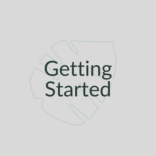 Getting Started Link Button